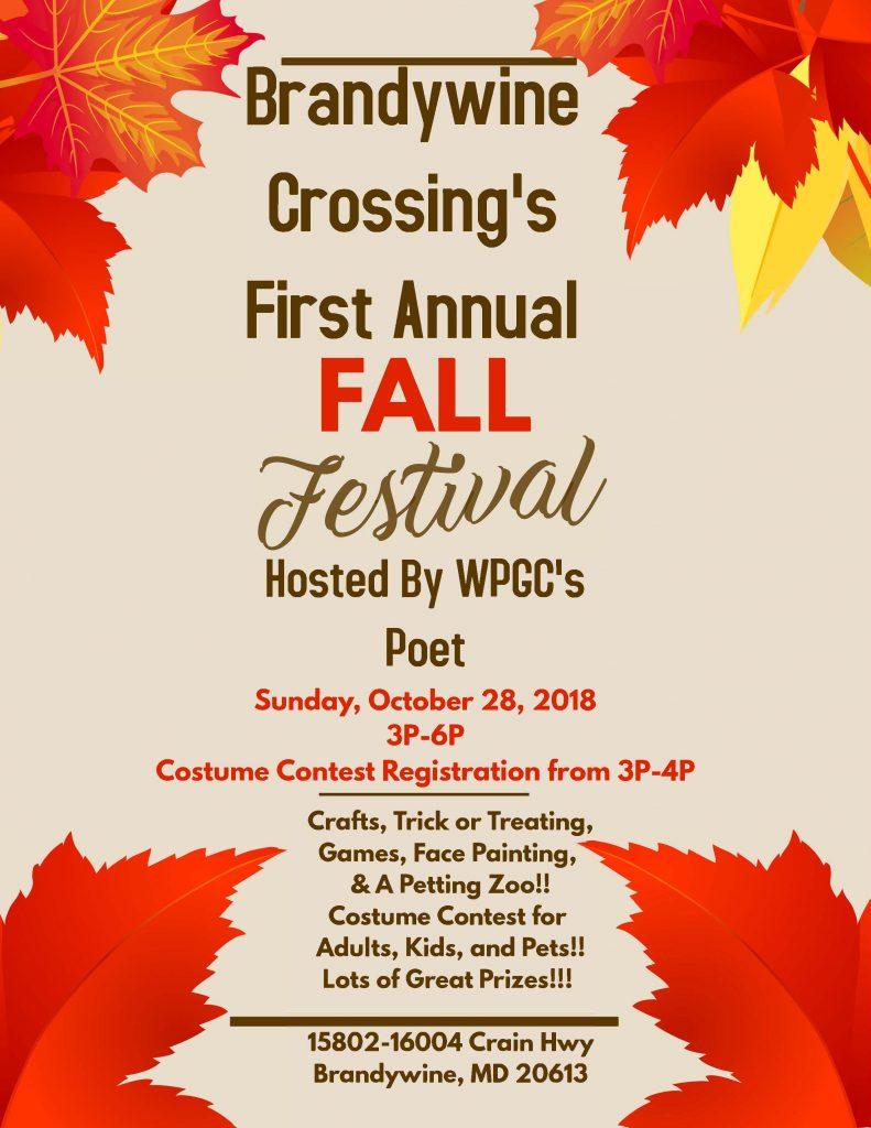 brandywine crossing fall festival october events